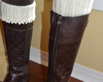 Hand knit Boot Cuffs/Leggings