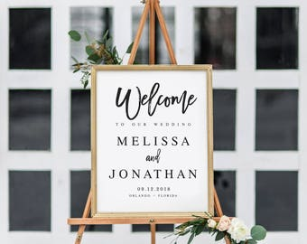 welcome to our engagement sign template welcome wedding
