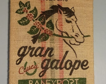 Horse (Colombia) Coffee Bag Wall Hanging