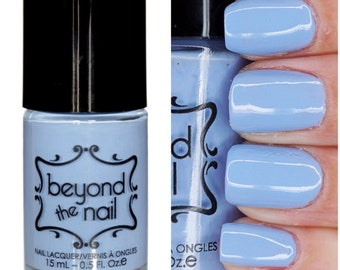 Popping Periwinkle Nail Polish - Soft Neon UV Reactive