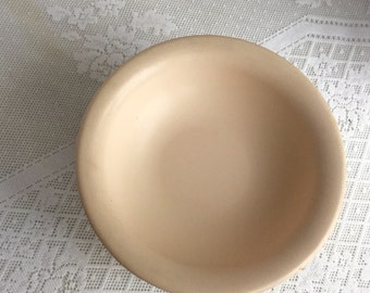 Vintage Tupperware Cereal Bowls in Pale Pink / Hard Plastic Ice Cream Bowls