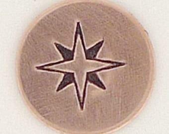 Book Metal Design Stamp 5mm Metal Jewelry Stamping Tool The