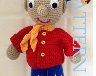 Noddy Crochet Pattern PDF