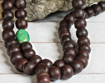 Bodhi Seed Tibetan Prayer Beads - Wood Mala Beads, Buddhist Rosary, Yoga Mala Beads, Buddhist Prayer Beads, 108 Mala Beads
