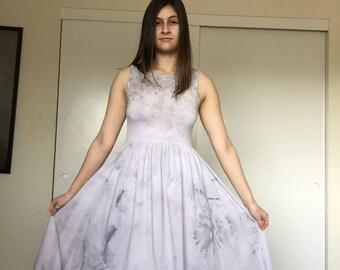 Naturally Dyed Rose Petal Dress