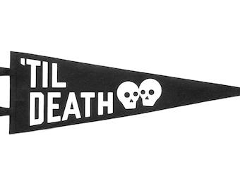 Til Death - Wedding Pennant