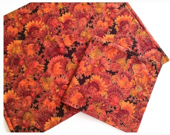 Turkey Placemats and Turkey Napkins, Thanksgiving Placemats and Napkins