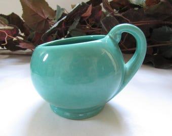 Metlox Pottery Poppytrail 200 Series Open Sugar Bowl 1930's; California Pottery, Early California Pottery