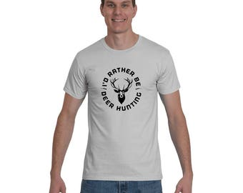 I'd Rather Be Deer Hunting Wild Outdoor Activity Short-Sleeve T-Shirt