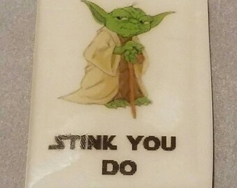 "Star Wars Yoda ""Stink You Do"" Soap"