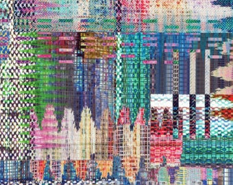 Hoffman Fabrics - Crystalia in Opal (digital spectrum print)
