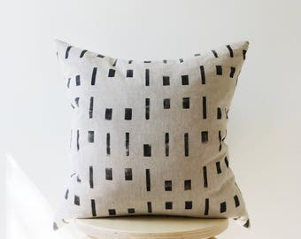 Dot Dash Pillow