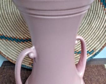 Abingdon Pottery USA Vase Pink