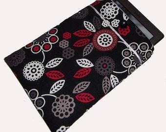 Retro Inspired Flower Power eReader Gadget Laptop Case Cover Bag fits Kindle Tablet - Gift Idea