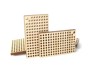 Cross Stitch Pendant, Rectangle, 50x30 mm, Cross Stitch Blank, Plywood Blank, Pendant, Earring, Brooch, Necklace, Laser Cut