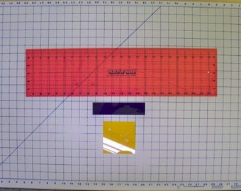 "18""x24"" Big-Mat Kit (Mat, Ruler, Eraser, Stabilizer) Rotary cutting Surface, Quilting/Sewing Made in the USA"