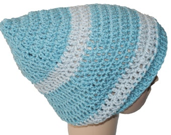 Mens Slouch Hat, Mens Slouch Beanie, Pixie Hat, Slouch Cap, Slouch Hat, Mens Hat, Gnome Hat, Blue Hat, Pixie Beanie, Baggy Hat, Winter Hat