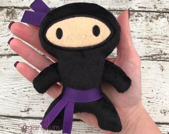 Stuffed Ninja, Stuffed Toy, Ninja Birthday