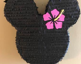 Minnie Mouse Luau Pinata