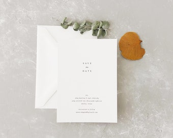 Amy Wedding Save the Date - Sample