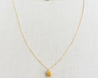 Pine Cone Necklace - Gold Pine Cone Necklace, Pine Cone Jewelry, Pinecone Necklace, Dainty Necklace Gold,  Pinecone Jewelry, Necklace, NGP25