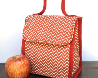 The Sack Insulated Lunch Bag PDF Pattern