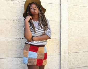 The Marina Crochet Skirt Pattern. Instant Download!