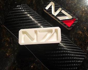 Mass Effect N7 badge kit (2piece)