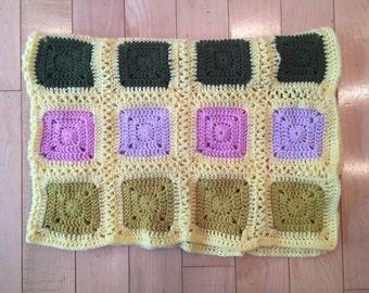 Baby blanket hand crochet
