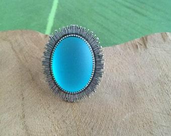 Ring blue fantasy