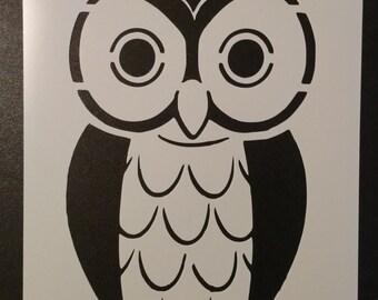 Owl Bird Custom Stencil FAST FREE SHIPPING