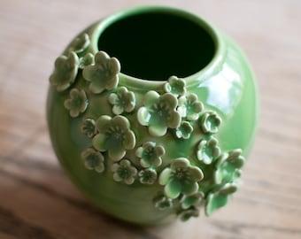 FLORAPALOOZA Vase-Midori Green