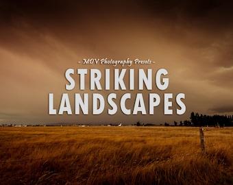 Striking Landscapes Lightroom Presets, landscape, portrait, travel, film, color, presets, rustic, vintage, retro, lightroom, preset