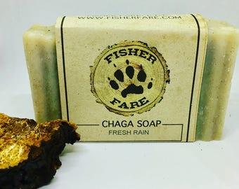 Chaga Soap- Fresh Rain Scent