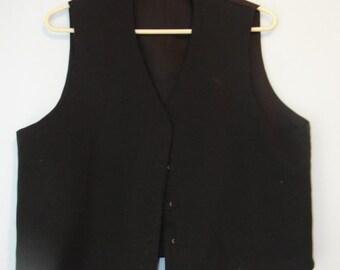 Authentic Amish Adult Vest - SKU 1326