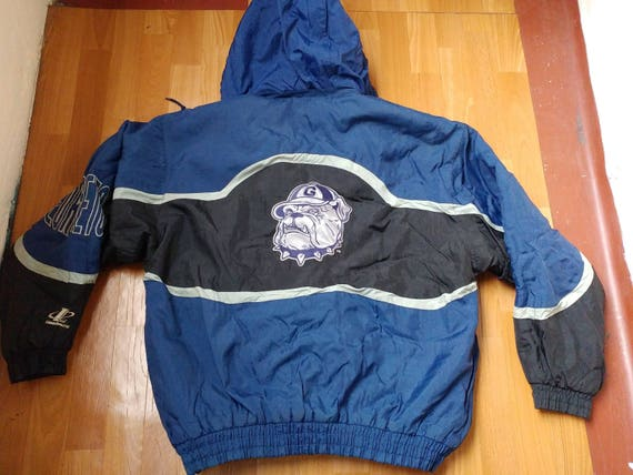 Georgetown Hoyas winter jacket coat starter jacket logo athletic NCAA medium large rZ7Aix