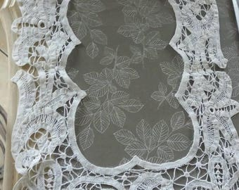 Old vintage lace collar form sailor