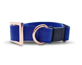 Royal Cat Collar in Rose Gold Hardware(Safety Breakaway Buckle)