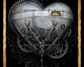 The Heart of Invention -  Art Print by Brian Giberson