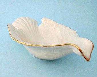 Lenox Dove Bowl - Vintage Lenox Fine China Bird Dove Bowl