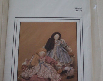 "The Cornell Collection ""Hillary"" NB125 pattern ,14"" doll,vintage"
