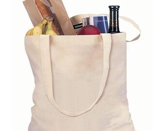 Shopping Bag,Organic Cotton,35x40cm,Handle Length 70cm