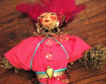 New Orleans Style Voodoo Doll ~ Erzulie Freda