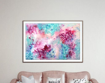 Digital download.Abstract.Pink.blue.Instant download.Downloadable prints.Printable art.Wall art prints.Wall prints.Abstract print