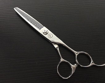 Silver Ice Thinning Scissors | Forgica