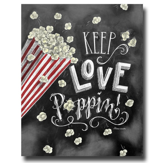 Popcorn Bar Wedding Popcorn Bar Popcorn Bar Sign Chalkboard