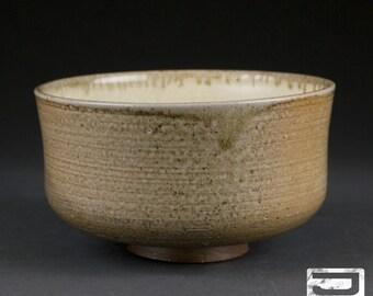 Wood-Fired Japanese Tea Bowl (matcha chawan)