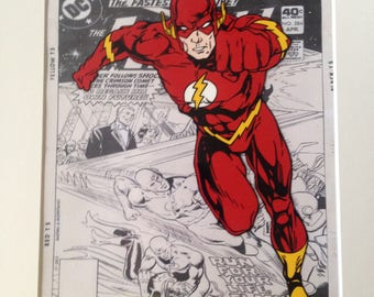 DC Comics - The Flash - Hand drawn & hand painted cel