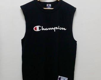 Vintage CHAMPION Big Logo shirt -A013