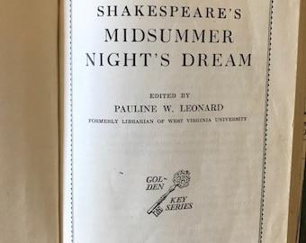 Shakespeare's Midsummer Nights Dream, 1929 // Vintage Theater Classic